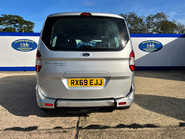 Ford Tourneo Courier ZETEC TDCI wheelchair & scooter accessible vehicle WAV 5