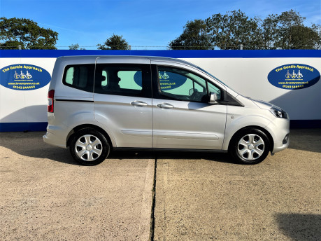 Ford Tourneo Courier ZETEC TDCI wheelchair & scooter accessible vehicle WAV 22