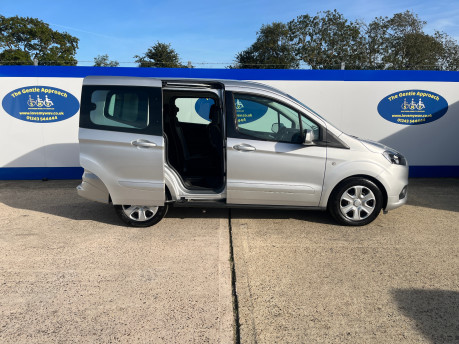 Ford Tourneo Courier ZETEC TDCI wheelchair & scooter accessible vehicle WAV 23