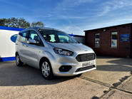 Ford Tourneo Courier ZETEC TDCI wheelchair & scooter accessible vehicle WAV 2