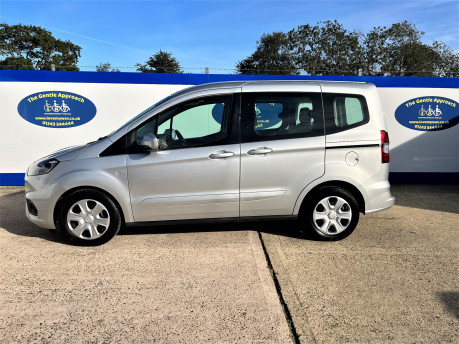 Ford Tourneo Courier ZETEC TDCI wheelchair & scooter accessible vehicle WAV 24