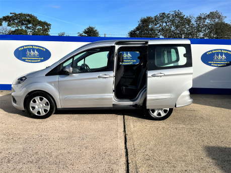 Ford Tourneo Courier ZETEC TDCI wheelchair & scooter accessible vehicle WAV 25