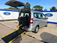 Ford Tourneo Courier ZETEC TDCI wheelchair & scooter accessible vehicle WAV 26