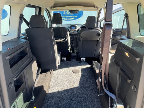 Ford Tourneo Courier ZETEC TDCI wheelchair & scooter accessible vehicle WAV 17