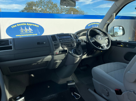 Volkswagen Caravelle SE TDI BLUEMOTION TECHNOLOGY wheelchair & scooter accessible vehicle WAV 1