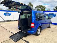 Volkswagen Caddy Life C20 LIFE TDI wheelchair & scooter accessible vehicle WAV 24