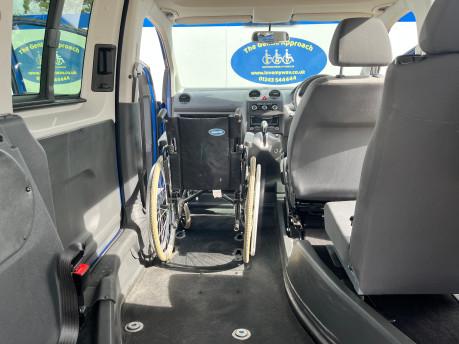 Volkswagen Caddy Life C20 LIFE TDI wheelchair & scooter accessible vehicle WAV 12