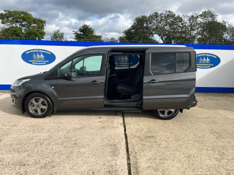 Ford Grand Tourneo Connect TITANIUM TDCI wheelchair & scooter accessible vehicle WAV 25
