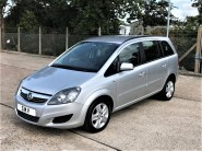 Vauxhall Zafira EXCLUSIV Wheelchair Accessible Vehicle 3