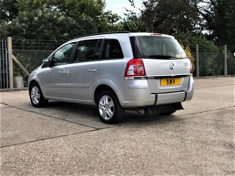 Vauxhall Zafira EXCLUSIV Wheelchair Accessible Vehicle 5