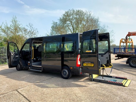 Renault Master 2017 LM35 BUSINESS DCI S/R P/V QUICKSHIFT Wheelchair Accessible Vehicle WAV 1