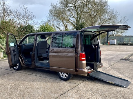Volkswagen Caravelle 2012 SE TDI Wheelchair Accessible Vehicle WAV