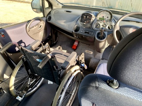 Fiat Multipla 2011 JTD DYNAMIC Wheelchair Accessible Vehicle WAV 9