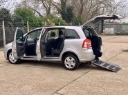 Vauxhall Zafira 2012 EXCLUSIV Wheelchair Accessible Vehicle WAV 1