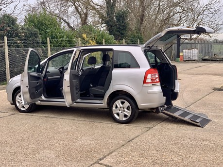 Vauxhall Zafira 2012 EXCLUSIV Wheelchair Accessible Vehicle WAV