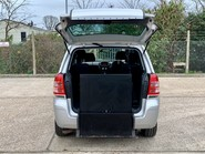 Vauxhall Zafira 2012 EXCLUSIV Wheelchair Accessible Vehicle WAV 2