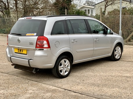 Vauxhall Zafira 2012 EXCLUSIV Wheelchair Accessible Vehicle WAV 9