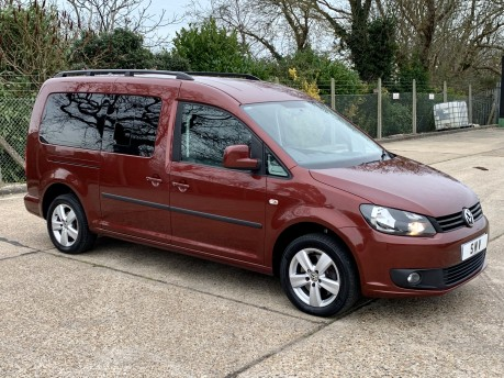 Volkswagen Caddy Maxi C20 LIFE TDI Wheelchair Accessible Vehicle 14