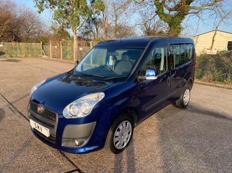 Fiat Doblo 2012 MULTIJET MYLIFE wheelchair & scooter accessible vehicle WAV 3