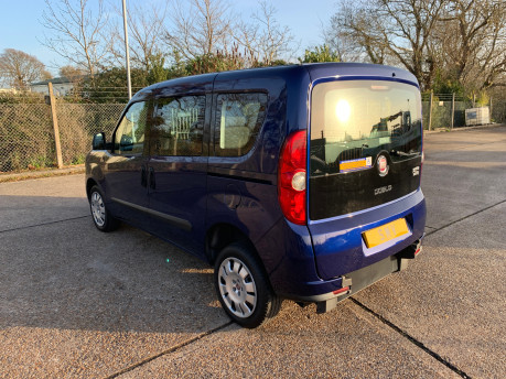 Fiat Doblo 2012 MULTIJET MYLIFE wheelchair & scooter accessible vehicle WAV 10
