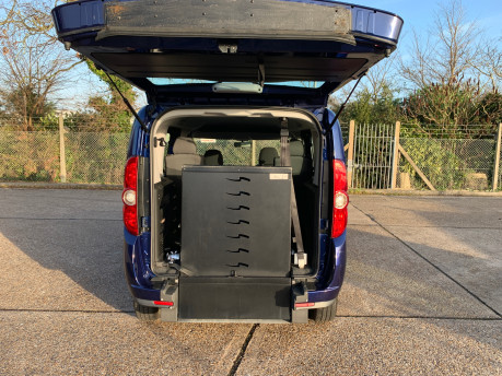 Fiat Doblo 2012 MULTIJET MYLIFE wheelchair & scooter accessible vehicle WAV 14
