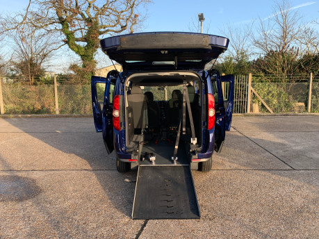 Fiat Doblo 2012 MULTIJET MYLIFE wheelchair & scooter accessible vehicle WAV 23