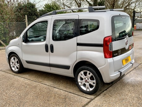 Fiat Qubo MULTIJET DYNAMIC DUALOGIC Wheelchair Accessible Vehicle WAV 9