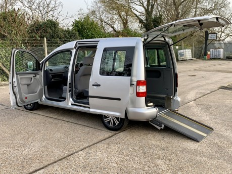 Volkswagen Caddy 2006 LIFE TDI DSG Wheelchair Accessible Vehicle WAV