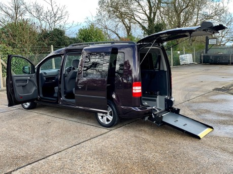 Volkswagen Caddy Maxi 2012 C20 LIFE TDI Wheelchair Accessible Vehicle WAV