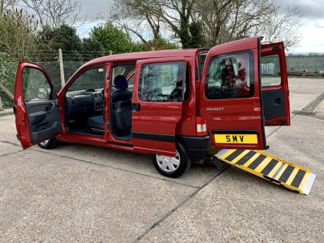 Peugeot Partner 2010 COMBI ORIGIN Wheelchair Accessible Vehicle WAV