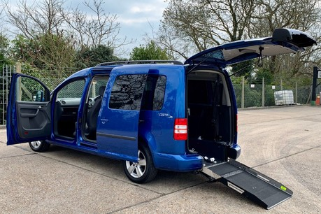 Volkswagen Caddy Maxi 2015 C20 LIFE TDI Wheelchair Accessible Vehicle WAV