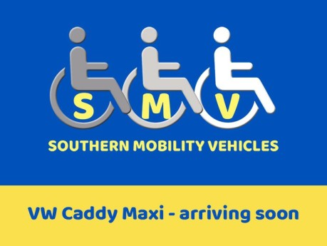 Volkswagen Caddy Maxi Life 2017 C20 LIFE TDI Wheelchair Accessible Vehicle WAV