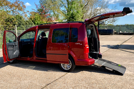 Volkswagen Caddy Maxi 2016 C20 LIFE TDI Wheelchair Accessible Vehicle WAV