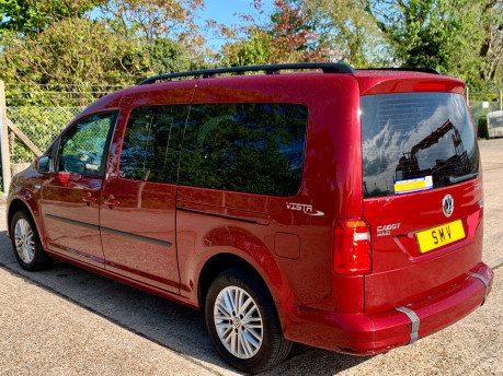 Volkswagen Caddy Maxi 2016 C20 LIFE TDI Wheelchair Accessible Vehicle WAV 9