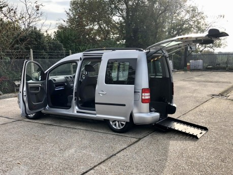 Volkswagen Caddy 2013 C20 LIFE TDI Wheelchair Accessible Vehicle WAV