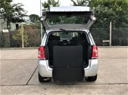 Vauxhall Zafira EXCLUSIV Wheelchair Accessible Vehicle 8