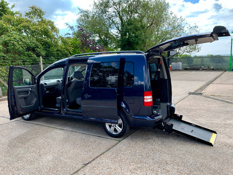 Volkswagen Caddy Maxi 2014 C20 LIFE TDI Wheelchair Accessible Vehicle WAV