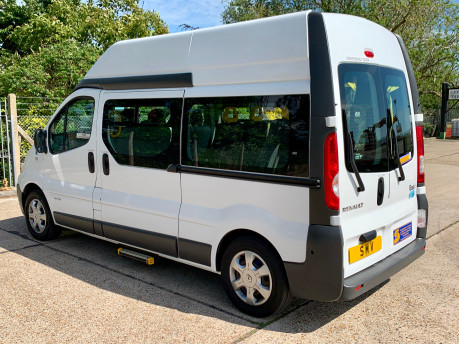 Renault Trafic 2014 LH29 DCI H/R Wheelchair Accessible Vehicle WAV 9