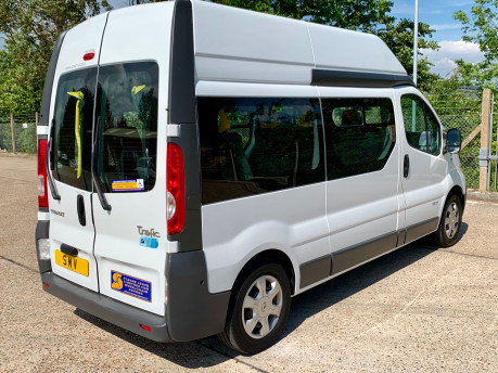 Renault Trafic 2014 LH29 DCI H/R Wheelchair Accessible Vehicle WAV 11