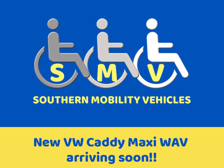 Volkswagen Caddy Maxi Life 102ps DSG Auto Wheelchair Accessible Vehicle WAV
