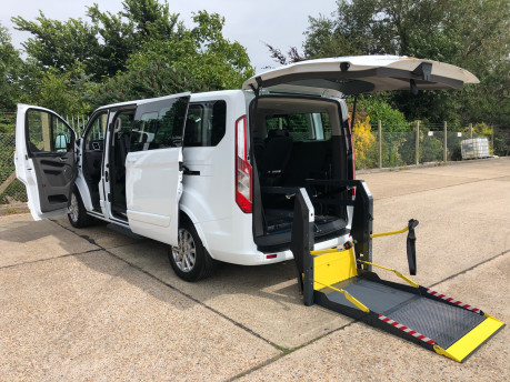 Ford Tourneo Custom Titanium X L2 130ps wheelchair accessible vehicle WAV 1