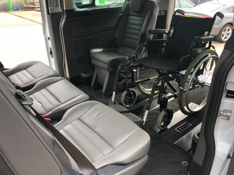 Ford Tourneo Custom Titanium X L2 130ps wheelchair accessible vehicle WAV 7