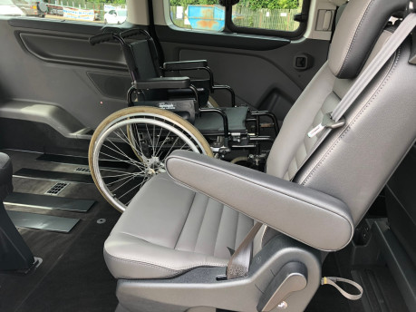 Ford Tourneo Custom Titanium X L2 130ps wheelchair accessible vehicle WAV 11