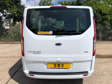 Ford Tourneo Custom Titanium X L2 130ps wheelchair accessible vehicle WAV 36