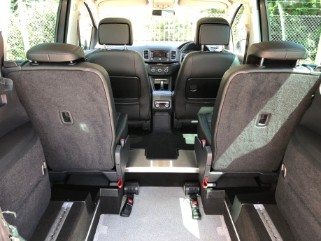 SEAT Alhambra 2014 TDI CR SE LUX DSG Wheelchair Accessible Vehicle WAV 5
