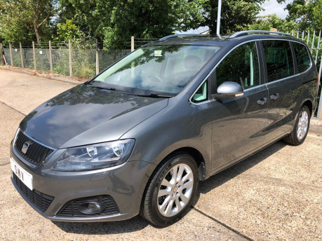 SEAT Alhambra 2014 TDI CR SE LUX DSG Wheelchair Accessible Vehicle WAV 1