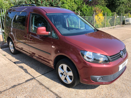 Volkswagen Caddy Maxi 2014 C20 LIFE TDI wheelchair & scooter accessible vehicle WAV 19