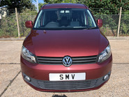 Volkswagen Caddy Maxi Life 2014 C20 LIFE TDI wheelchair & scooter accessible vehicle WAV 21
