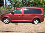 Volkswagen Caddy Maxi Life 2014 C20 LIFE TDI wheelchair & scooter accessible vehicle WAV 3