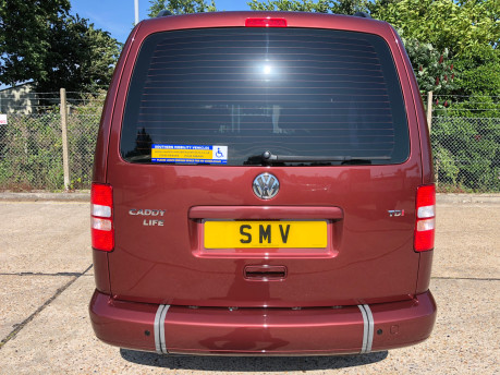 Volkswagen Caddy Maxi Life 2014 C20 LIFE TDI wheelchair & scooter accessible vehicle WAV 22